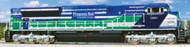 EMD Locomotive SD70ACe-T4, blue/green