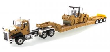 CAT LKW CT660 mit Auflieger + Verdichter CB-534