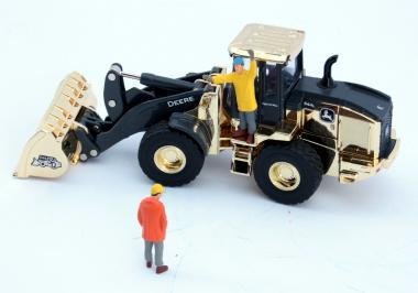 "JOHN DEERE Wheel Loader 544L High Lift, Gold Plated ""50th Annversary Wheel Loader"""