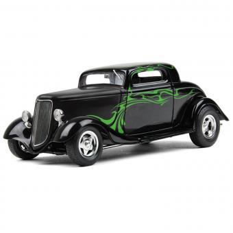 FORD 1934´s Coupe Street Road, schwarz/zitronengrün