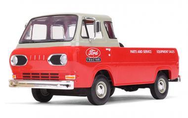 FORD Econoline Pickup von 1960 mit 3 Kisten, rot