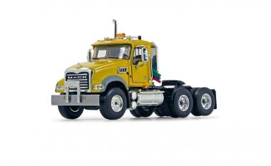 MACK Granite MP 3achs Sattelzugmaschine, gelb