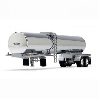 Tankwagenauflieger für Lebensmitteltransporte, chrom