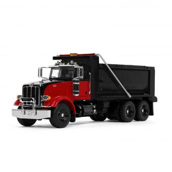 PETERBILT Model 367 Dump Truck, red/black