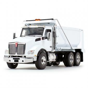 KENWORTH T880 3achs Kipper, weiß