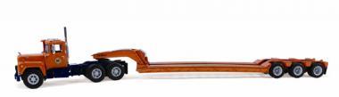 MACK R 3achs mit 3achs Tieflader, orange