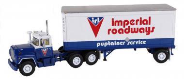 """MACK R 3achs mit 1achs 28`Auflieger """"Imperial Roadways, Ltd."""""""