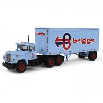 "MACK R 3achs miit 28"" Anhänger ""Briggs Transportation"""