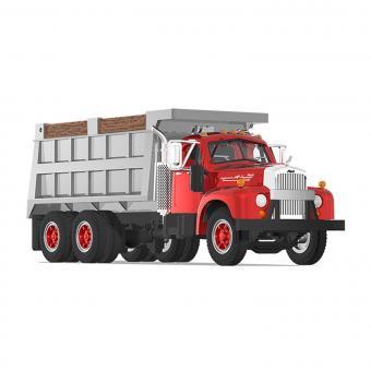 MACK Dump Truck B-61, rot/grau