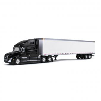 VOLVO VNR 760 SleeperCab with 53´Trailer, sable black metallic /white