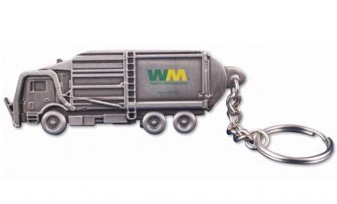 """Schlüsselanhänger: Müllwagen """"Waste Management"""""""