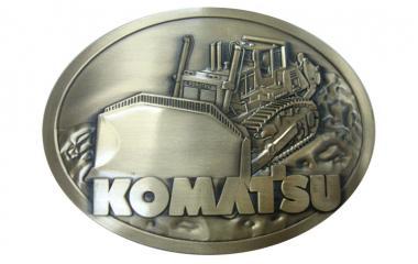 Belt Buckle: KOMATSU Dozer D475A