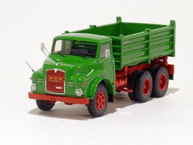 MAN Hauber 19.230 DHAK 6x6 mit 3-Seiten-Kipper, grün