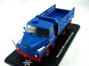 HENSCHEL 3achs Kipper HS3-14HS  (CH), blau