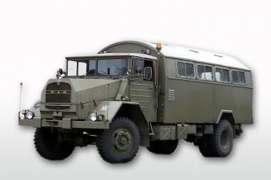 MAN 5to 630 L 2 AE mit BW Koffer, olivgrün