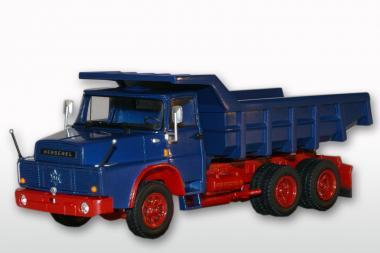 HENSCHEL 3achs Kipper H261 mit Steinmulde, blau