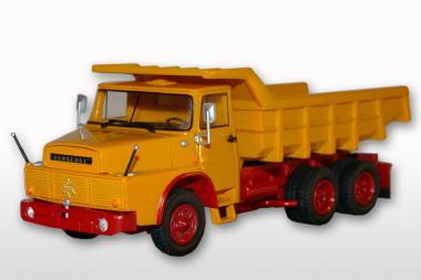 HENSCHEL 3achs Kipper H261 mit Steinmulde, gelb