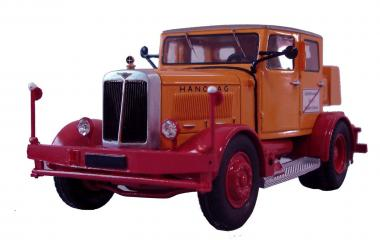 HANOMAG SS100 Zugmaschine, orange/rot