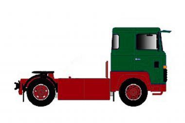 SCANIA S0 4x2 Solomaschine, grün/rot