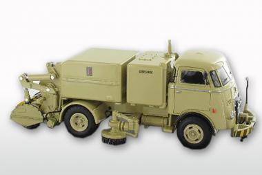 DAF T1300 DA265 mit GEESINK Kehraufbau ( mit 6 Rippenkühler), beige