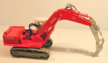 O&H Excavator RH40 high cab mont
