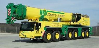 "LIEBHERR 6achs Autokran LTM1350-6.1 ""HKV Schmitz + Partner"""