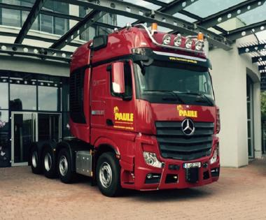 "MB Actros MP4 Giga Space SLT 8x4 ""Hermann Paule"""