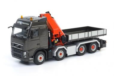 VOLVO FH3 Globetr. 4axle with PALFINGER mounted Crane PK92002 SH