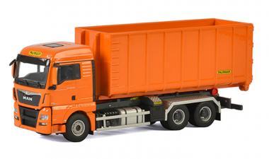 "MAN TGX XLX Euro6 3achs mit HOOKLIFT System Container 40M3 ""Palfinger"""