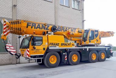 """LIEBHERR 4achs Autokran LTM1090-4.2 """"Franz Bracht"""""""