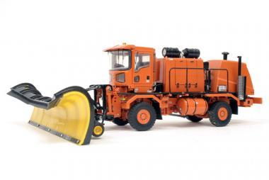 OSHKOSH H mit Schneefräse und -schild, orange