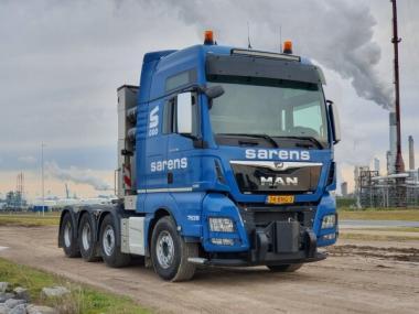 """MAN TGX 8x4 Schwerlast-Sattelzugmaschine """"Sarens"""""""