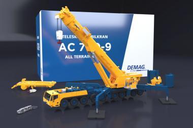 DEMAG 9achs Autokran AC700-9 (Standard Version)