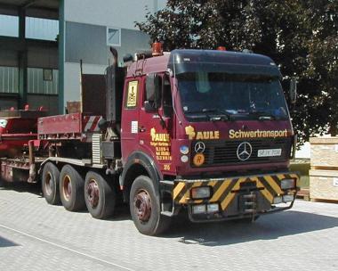 "MB NG85 3544 8x4 Schwerlastzugmaschine ""Paule"""