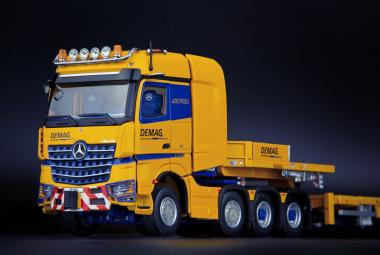 """MB Actros 4achs mit NOOTEBOOM MCO 7achs Tieflader """"Tadano"""""""