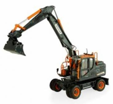 "DOOSAN Wheeled Excavator  DX160W ""black Edition"""