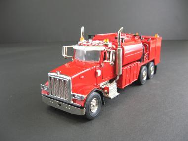 PETERBILT 357 w/Eliott Fuel + Lube Body, red