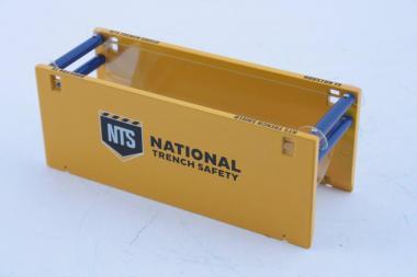"""GME Schallungsverbau, gelb 12,3 x 4,5 c 1,8 cm """"National Trench Safety"""""""
