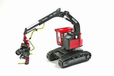 VALMET Harvester 445EXL with crawler