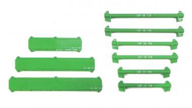 Hebeset mit Auslegerbalken Schlingen Schäkel 121 Teile, grün