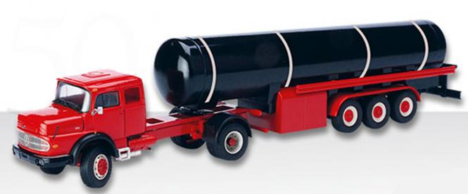 MB Rundhauber Sattelzugmaschine LS1624 mit Tankaufleger