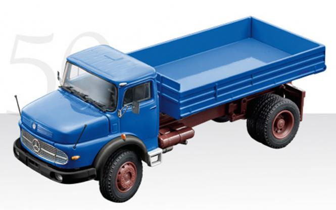 MB 2axle Oldtimer tipper LAK 1624, blue