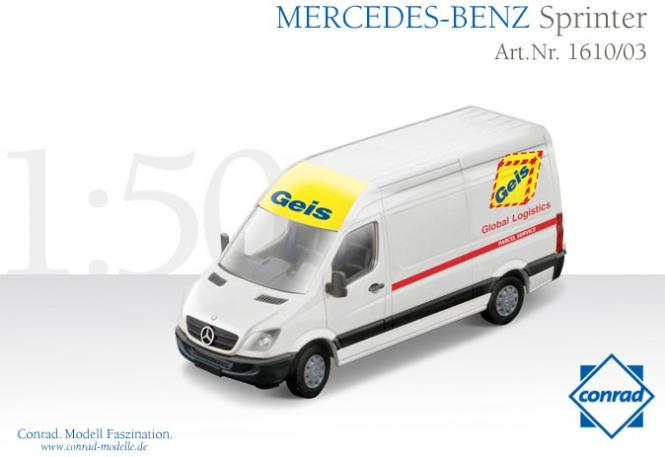 "MERCEDES BENZ Sprinter ""Geis"""