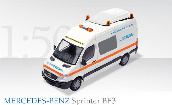 """MERCEDES-BENZ  Sprinter BF3 accompany """"Bautrans"""""""