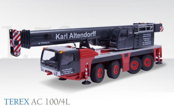 "TEREX 4axle Mobile Crane AC 100/4L ""Karl Altendorff"""