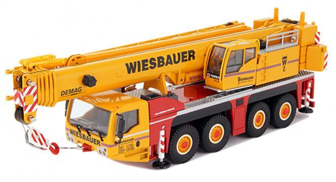"""TEREX 4axle Mobile crane AC 100/4L """"Wiesbauer"""""""