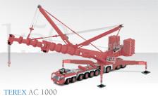 "TEREX 9achs Autokran AC1000 ""Integrated Logistics"""