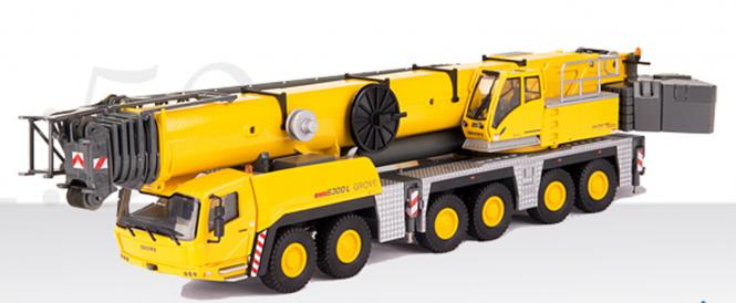 GROVE All-Terrain crane GMK6300-L with boom extension