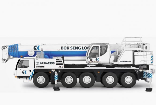 """LIEBHERR 5achs Autokran LTM1110-5.1 """"Bok Seng"""""""