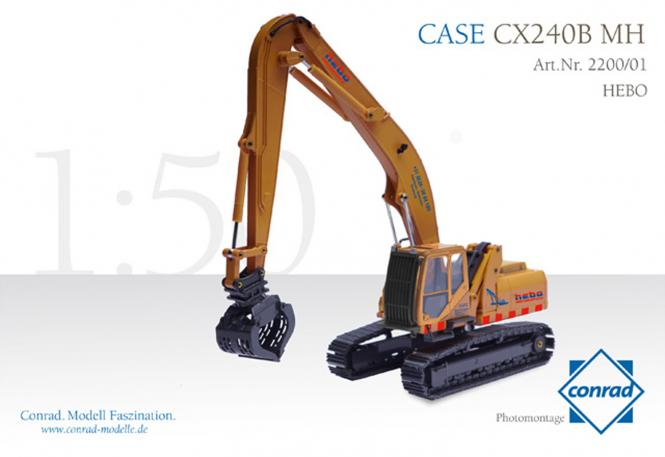 "CASE Umschlagmaschine CX240B ""HEBO"""